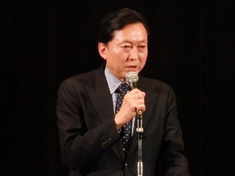 小沢一郎衆院議員「国民の生活が第一の政治を行うため政権交代を実現」と表明