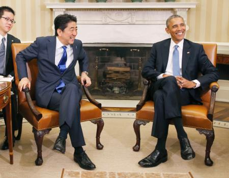 日米首脳会談、完全なる対米隷属化で合意ー日米心中化への道、波乱呼ぶTPP「為替条項」