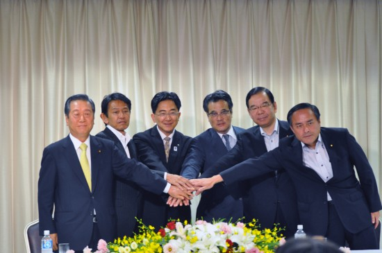 生活の党・小沢一郎代表、改めて「オリーブの木」構想実現訴える